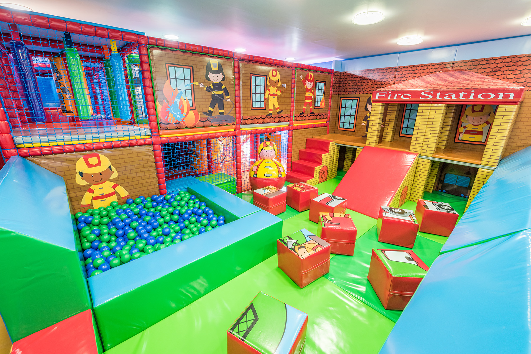 Little Fire Engine Soft Play area